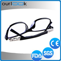 2015 Good Quality Western Style Anti Blue Ray Tinted Reading Glasses