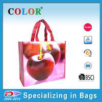 wholesale fruits shopping bag, expandable shopping bag,extra large pp nonwoven shopping bag