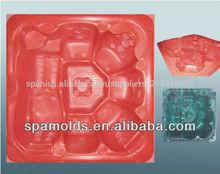 de fibra de vidrio reforzar plásticoinyección de spa al aire libre del molde