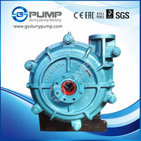 volute passage preservative treatment rubber slurry pumps made in China