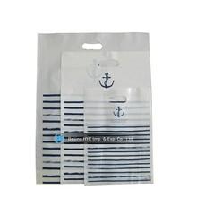 China OEM a4 plastic bag for dresses, white plastic bag