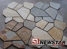 China Newstar Slate Tile,Meshed Paving Slate