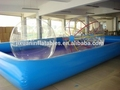 los derechos humanos hamster ball en la piscina
