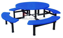 Dinning Table and Chair Fast Food Canteen Dining Set Restaurant Furniture
