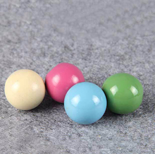 Multi-Colored Bright Assortment Large 20mm with 5mm hole Round Ball Wood Beads