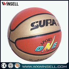 High quality durable shiny pvc basketball