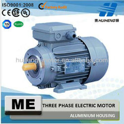 Aluminium Housing IE3 Standard Three Phase Electric Motor With CE