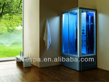 Blue glass Steam room shower room FS-8020L with ISO,CE,SAA,ETC,CB