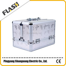 2015 New Clear Makeup Case/ Aluminum Cosmetic Case