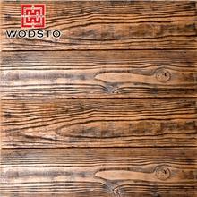 Revêtement mural matériau bois grain pierre artificielle