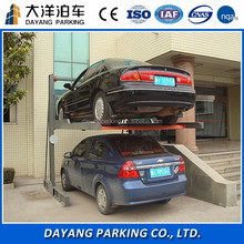 Two post motor drive mechanical type car parking