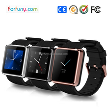 Bluetooth push message watch phone with 2G SIM card calling internet