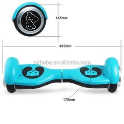 Factory Wholsale roly-poly self balance razor scooter ocean scooter with bluetooth speaker remote