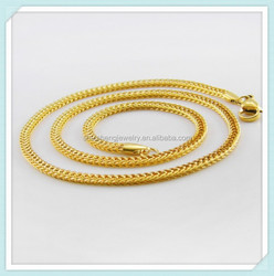 China supplier fashionable product 2015 new gold chain design for men