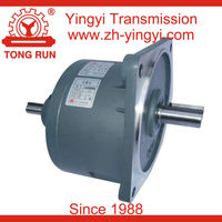 400W YVD two shafts vertical electric shaft gearmotor speed reducer