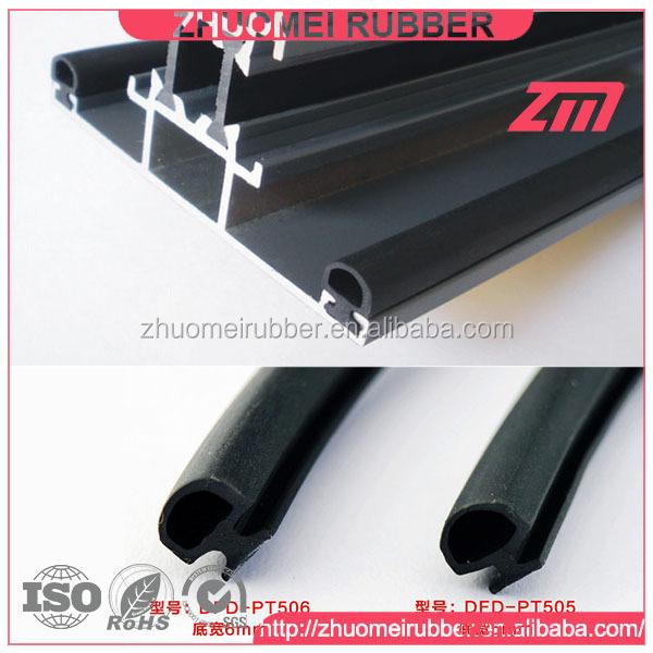 Aluminium Door And Window Slot Rubber Seal Strip - Buy Door Seal ...