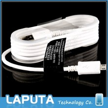 Genuine original micro usb 2.0 charger cable for samsung galaxy Note 4 usb cable with adapter