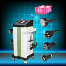 laser + Vacuum + cavitation + rf slimming body shapping machinein keep fitness