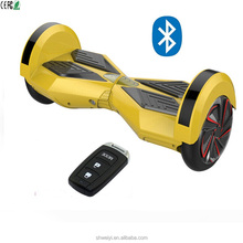 USA hot sell smart self balancing electric scooter 6.5 inch wheel with bluetooth and remote