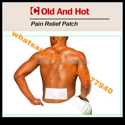 high quality China supplier chinese muscle pain relief patch