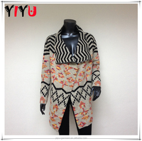 Women Buttonless Tribal Boho Cardigan Christmas Sweater Wholesale