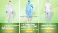 Disposable coveralls/disposable overalls/kids white disposable coveralls