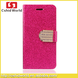 Bling Bling Slim Flip Leather Case For Samsung Galaxy S5
