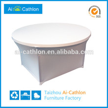 Factory plastic round table cover,dining table cover
