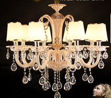 2014 Hot selling Classic crystal chandelier lighting popular for wedding decoration