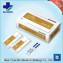 Pathological Analysis Equipments Type Dengue Test Strips IgA/IgG/IgM Ab & NS1 Ag