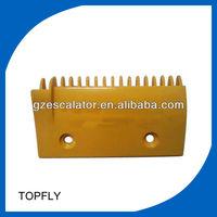 LG elevator comb plate 2L08317 escalator comb plate, escalator parts, lift comb plate