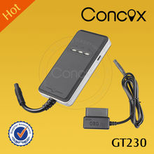 Concox Manufacturer Professional Smart OBD II Vehicle GPS GPRS Tracker with GPS+AGPS+LBS Accurate Triple-locating Function