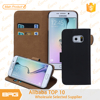 BRG Leather Phone Cover For Samsung Galaxy S6 Edge With Card Holder