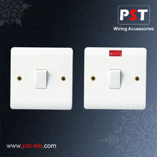 Top Selling Electrical Wall With Neon 20A 1 Gang Double Pole Switch