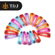 Wholesale 2015 Fancy Kids Hair Accessories Baby Girls Snap Band Mixed Colors Hair Clips