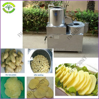 made of stainless steel potato spring cutting machine