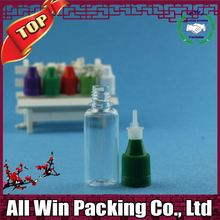 Fast Shipping Plastic e liquid Bottle With Childproof Dropper Liquid Fertilizer Plastic Bottles
