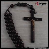 Big Wooden Bead Wall Rosary,Wood Catholic Rosaries