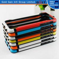 Cheap price Multicolor soft tpu bumper case for iPhone 5s, for iPhone 5s bumper case with soft tpu in stock