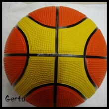size 6 rubber basketball used for women