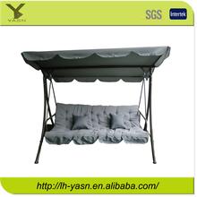 Luxurious Steel 4 seat swing bed, outdoor swing, garden swing