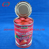 Sweet canned fruits strawberry