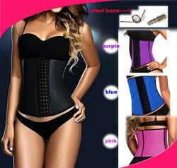 Factory Service 4 colors Woman Latex waist trainer Body shaper