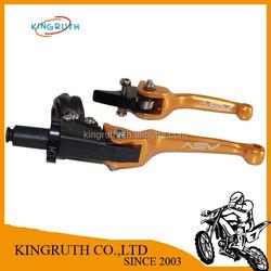 CNC Folding Brake Clutch Levers Pit Dirt Bike Pitpro Pitster Pro Piranha DHZ SSR
