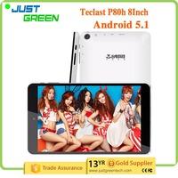 Tablet PC 8 Inch Dual Wifi Teclast P80h 1GB 8GB Andriod 5.1 Dual Wifi Tablet PC