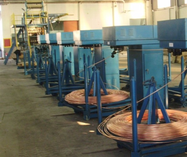 Oxygen-free copper bar up-casting production line2A.jpg