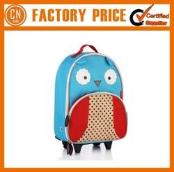 Cheap Oxford Kids Trolley School Bag With Wheels
