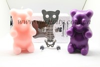 Bear Animal Candles Favors for baby shower and birthday party candle gift