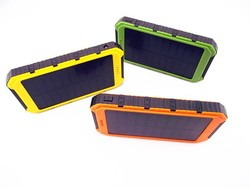 Energy Solar Waterproof Power Bank 4000mah solar panel Charging For all smarphone