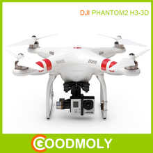 Best price gps smart drone DJI phantom 2 vision quadcopter with H3-3D